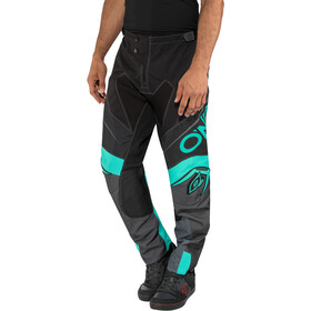 O'Neal Mayhem Lite Sykkelbukse Herre blocker-black/gray/teal